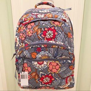 NWT Tropical Vera Bradley Essential large backpack